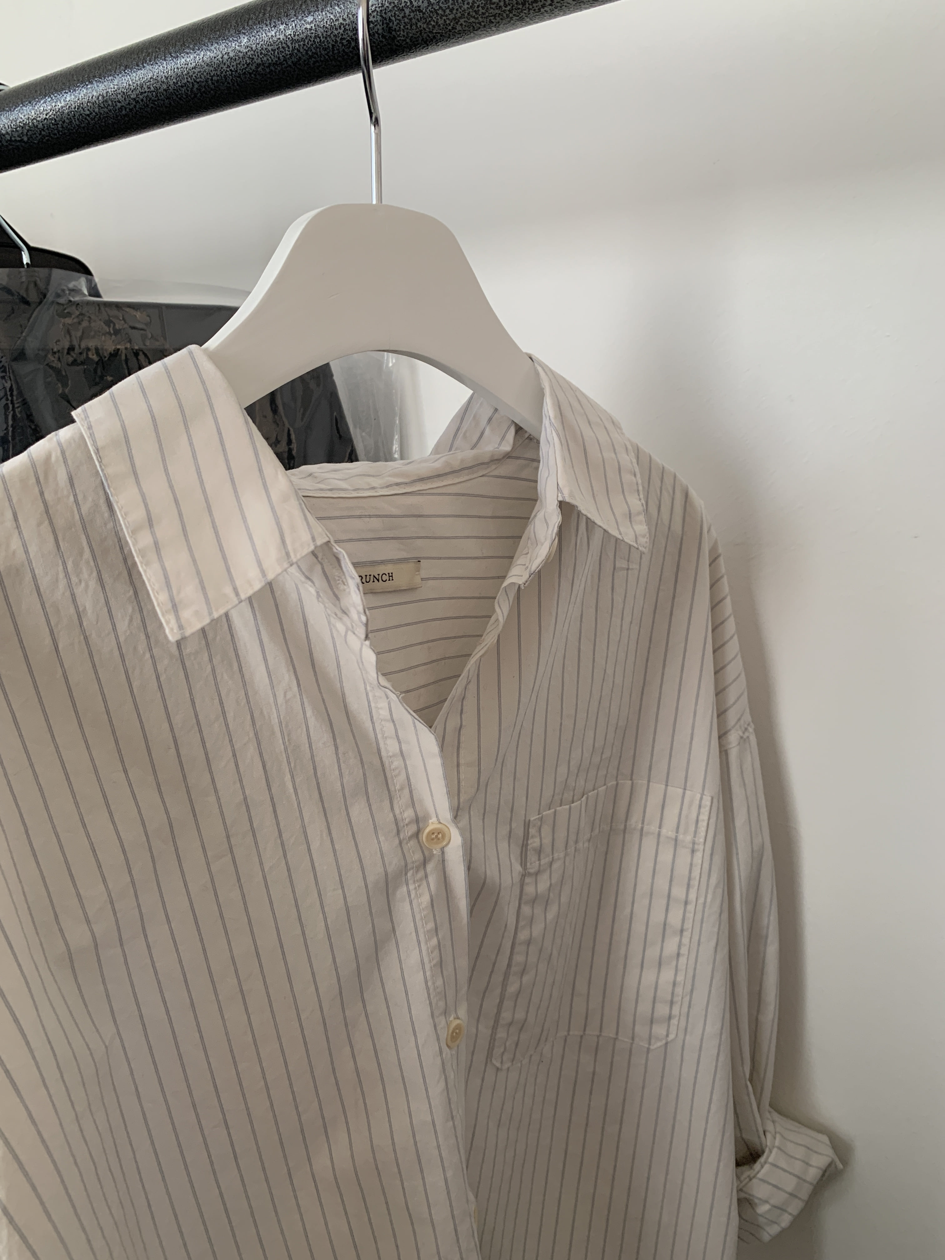 Water striped shirt